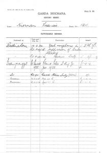 Francis Kiernan Garda Records-4